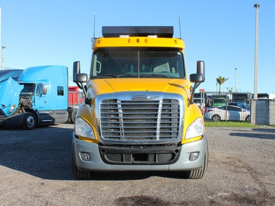 USED 2011 FREIGHTLINER CASCADIA QUAD AXLE STEEL DUMP TRUCK #2646-3