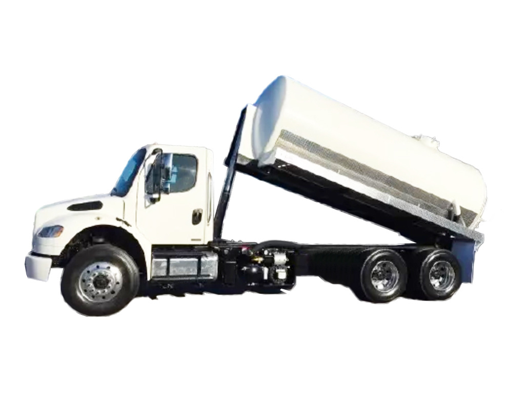 USED 2011 FREIGHTLINER COLUMBIA SEPTIC TANK TRUCK #2680