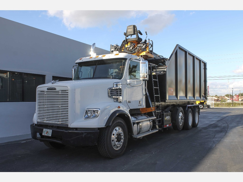 USED 2012 FREIGHTLINER CORONADO SD GRAPPLE TRUCK #140617