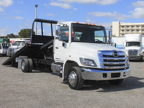 2019 HINO 258 Rollback Tow Truck #2953
