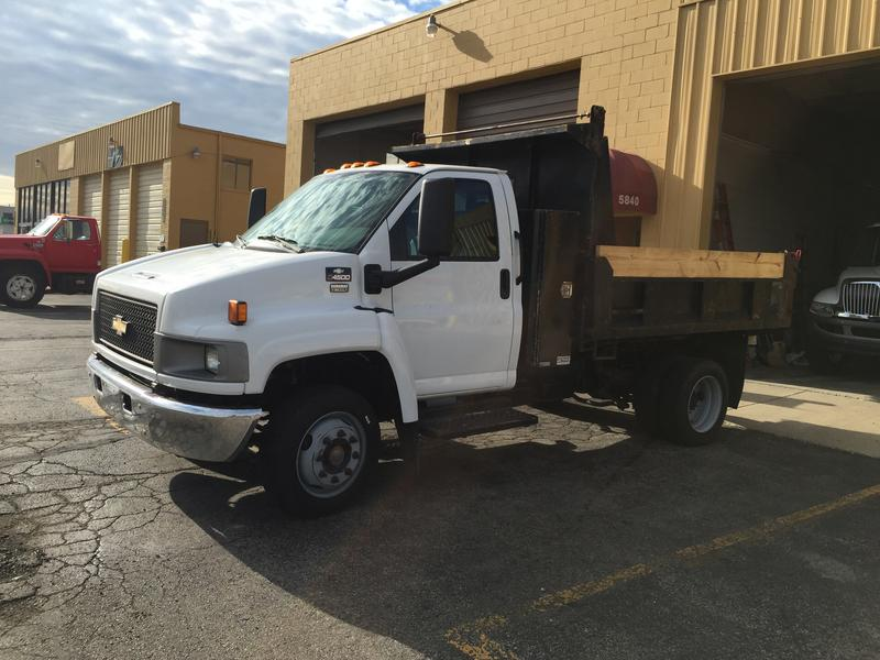 bed on emission and off roll heavytruck used htm flat bin sale for gmc tandem pre mississauga