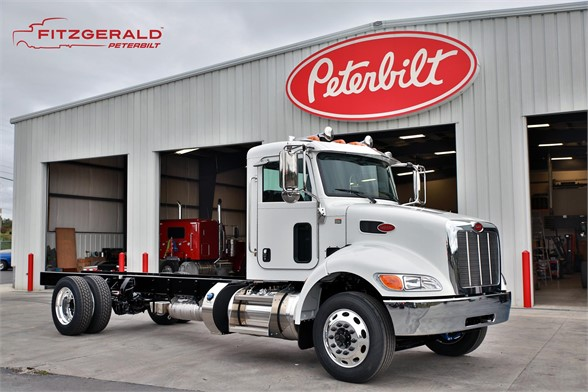NEW 2018 PETERBILT 337 CAB CHASSIS TRUCK #1167