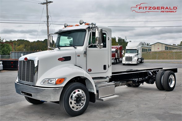 NEW 2018 PETERBILT 337 CAB CHASSIS TRUCK #1167-2