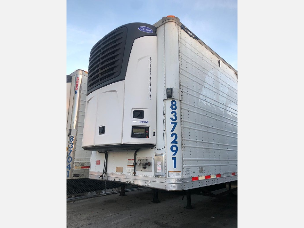 USED 2013 GREAT DANE REEFER TRAILER 53' REEFER TRAILER #1327