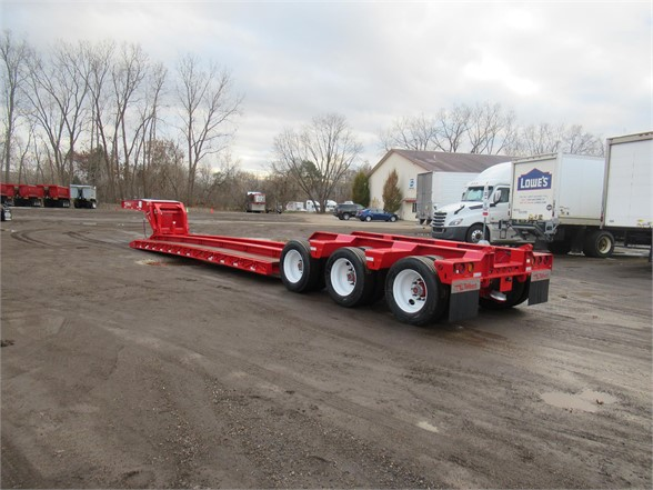 NEW 2019 TALBERT 2019 55TON DROP SIDE/RAI LOWBOY TRAILER #11681