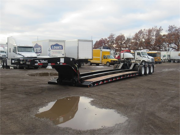 NEW 2019 TALBERT 2019 55TON DROP SIDE/RAI LOWBOY TRAILER #11682