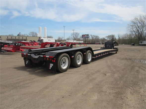 NEW 2020 FONTAINE 55 TON HRG W/ REAR FE LOWBOY TRAILER #11870