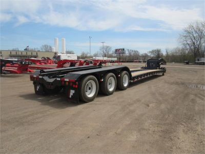 NEW 2020 FONTAINE 55 TON HRG W/ REAR FE LOWBOY TRAILER #11870-1