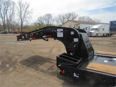 NEW 2020 FONTAINE 55 TON HRG W/ REAR FE LOWBOY TRAILER #11870-3