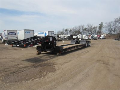 NEW 2020 FONTAINE 55 TON HRG W/ REAR FE LOWBOY TRAILER #11870-6