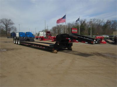 NEW 2020 FONTAINE 55 TON HRG W/ REAR FE LOWBOY TRAILER #11870-7