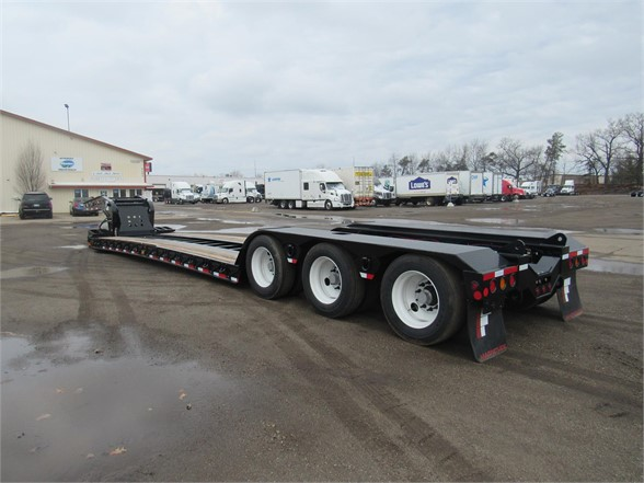 NEW 2020 FONTAINE 55 TON HRG W/ REAR FEN LOWBOY TRAILER #11938