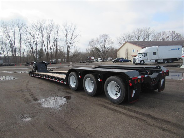 NEW 2020 FONTAINE 55 TON HRG W/REAR FEND LOWBOY TRAILER #11940