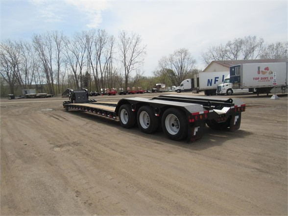 NEW 2020 FONTAINE 55 TON HRG W/ REAR FEN LOWBOY TRAILER #11941