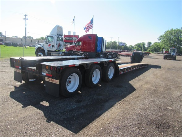 NEW 2019 TALBERT 55 TON HRG W/REAR FENDE LOWBOY TRAILER #12056