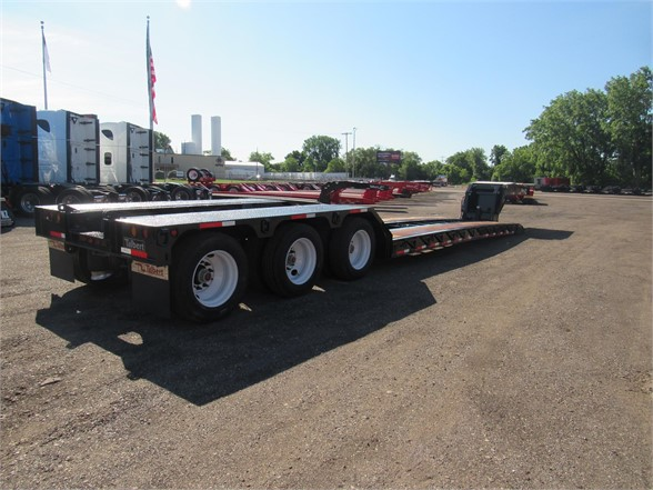 NEW 2019 TALBERT 55 TON HRG W/REAR FENDER LOWBOY TRAILER #12058