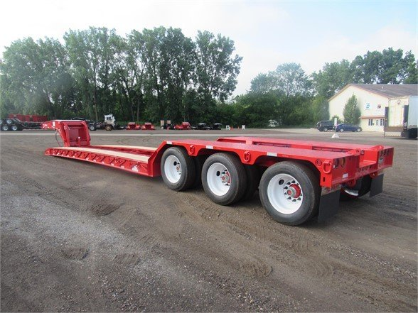 NEW 2020 TALBERT 55 TON HRG W/REAR FENDE LOWBOY TRAILER #12091