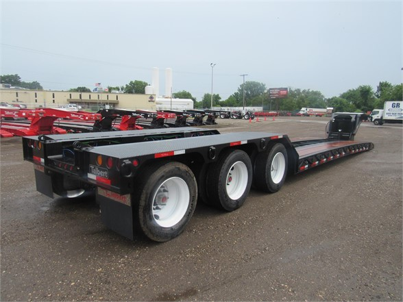 NEW 2020 TALBERT 55 TON HRG W/ REAR FEND LOWBOY TRAILER #12092