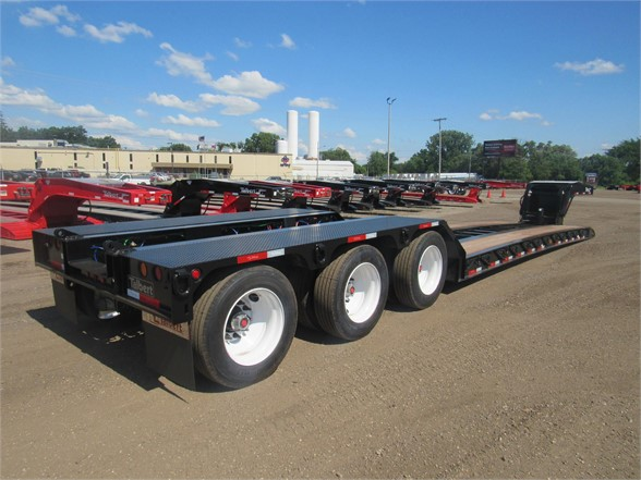 NEW 2020 TALBERT 55 TON HRG W/ REAR FEND LOWBOY TRAILER #12093