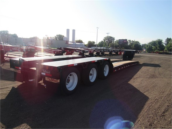 NEW 2020 TALBERT 55 TON HRG W/REAR FENDE LOWBOY TRAILER #12094