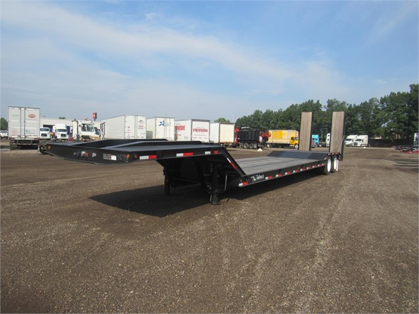 NEW 2020 TALBERT 35 TON FIXED NECK DOUBLE LOWBOY TRAILER #12116