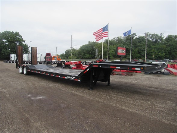 NEW 2020 TALBERT 35 TON FIXED NECK DOUBLE LOWBOY TRAILER #12117