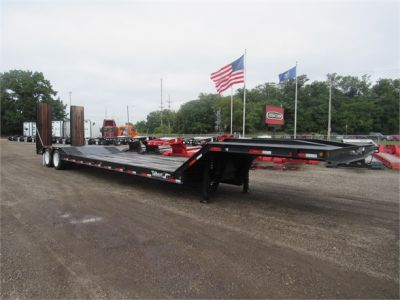 NEW 2020 TALBERT 35 TON FIXED NECK DOUBLE LOWBOY TRAILER #12117-1