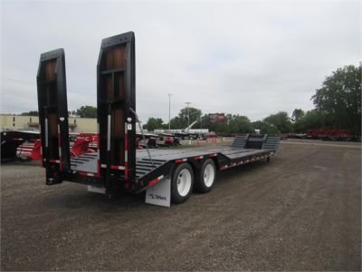 NEW 2020 TALBERT 35 TON FIXED NECK DOUBLE LOWBOY TRAILER #12117-4