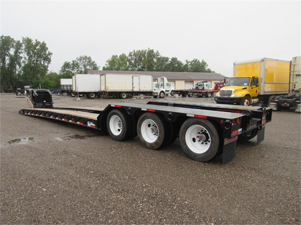 NEW 2020 TALBERT 55 TON HRG W/REAR FEND LOWBOY TRAILER #12120