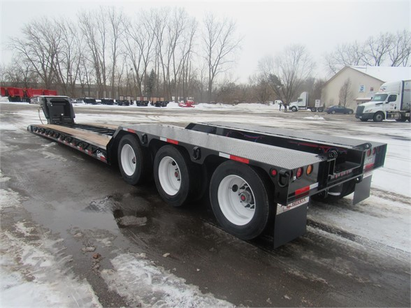 NEW 2020 TALBERT 55 TON HRG W/ REAR FEN LOWBOY TRAILER #12228
