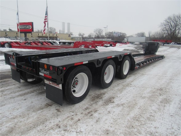 NEW 2020 TALBERT 55 TON HRG W/ REAR FEN LOWBOY TRAILER #12229