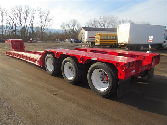 NEW 2020 TALBERT 55 TON HRG W/ REAR FEN LOWBOY TRAILER #12230