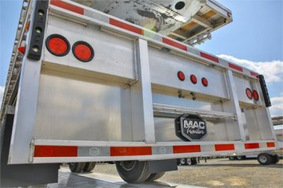 NEW 2019 MAC TRAILER MFG ROAD WARRIOR FLATBED TRAILER #2787-2