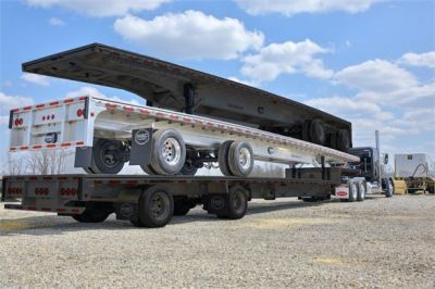 NEW 2019 MAC TRAILER MFG ROAD WARRIOR FLATBED TRAILER #2787-4