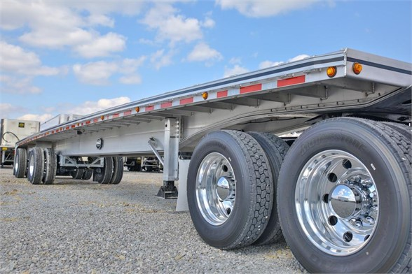 NEW 2019 MAC TRAILER MFG 48FT FLAT BED FLATBED TRAILER #2788