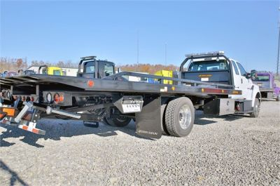 NEW 2018 FORD F650 ROLLBACK TOW TRUCK #2400-14
