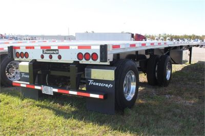 NEW 2016 TRANSCRAFT EAGLE FLATBED TRAILER #2438-2