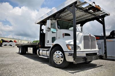 USED 2015 KENWORTH T370 ROLLBACK TOW TRUCK #2622-1