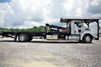 USED 2015 KENWORTH T370 ROLLBACK TOW TRUCK #2622-3