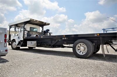USED 2015 KENWORTH T370 ROLLBACK TOW TRUCK #2622-8