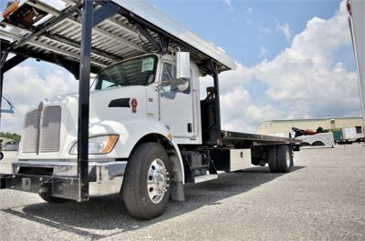 USED 2015 KENWORTH T370 ROLLBACK TOW TRUCK #2622-9