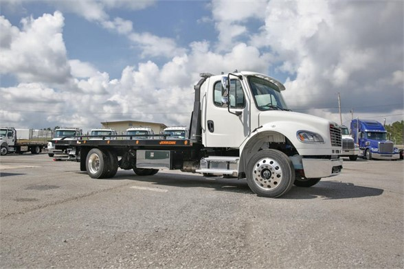 NEW 2018 FREIGHTLINER BUSINESS CLASS M2 106 ROLLBACK TOW TRUCK #2748