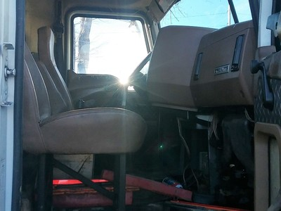 USED 2011 MACK GU - 713 TRI-AXLE STEEL DUMP TRUCK #1530-14