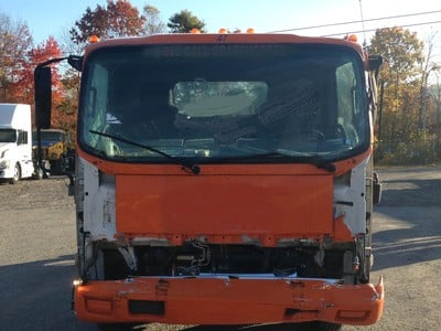 USED 2007 ISUZU W4 CAB CHASSIS TRUCK #1632-3