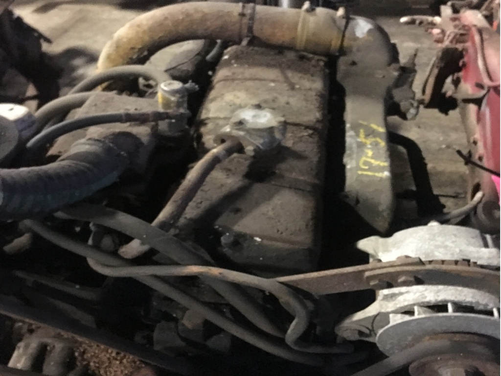 USED 0 CUMMINS C180 SUPER CHARGED COMPLETE ENGINE TRUCK PARTS #1751