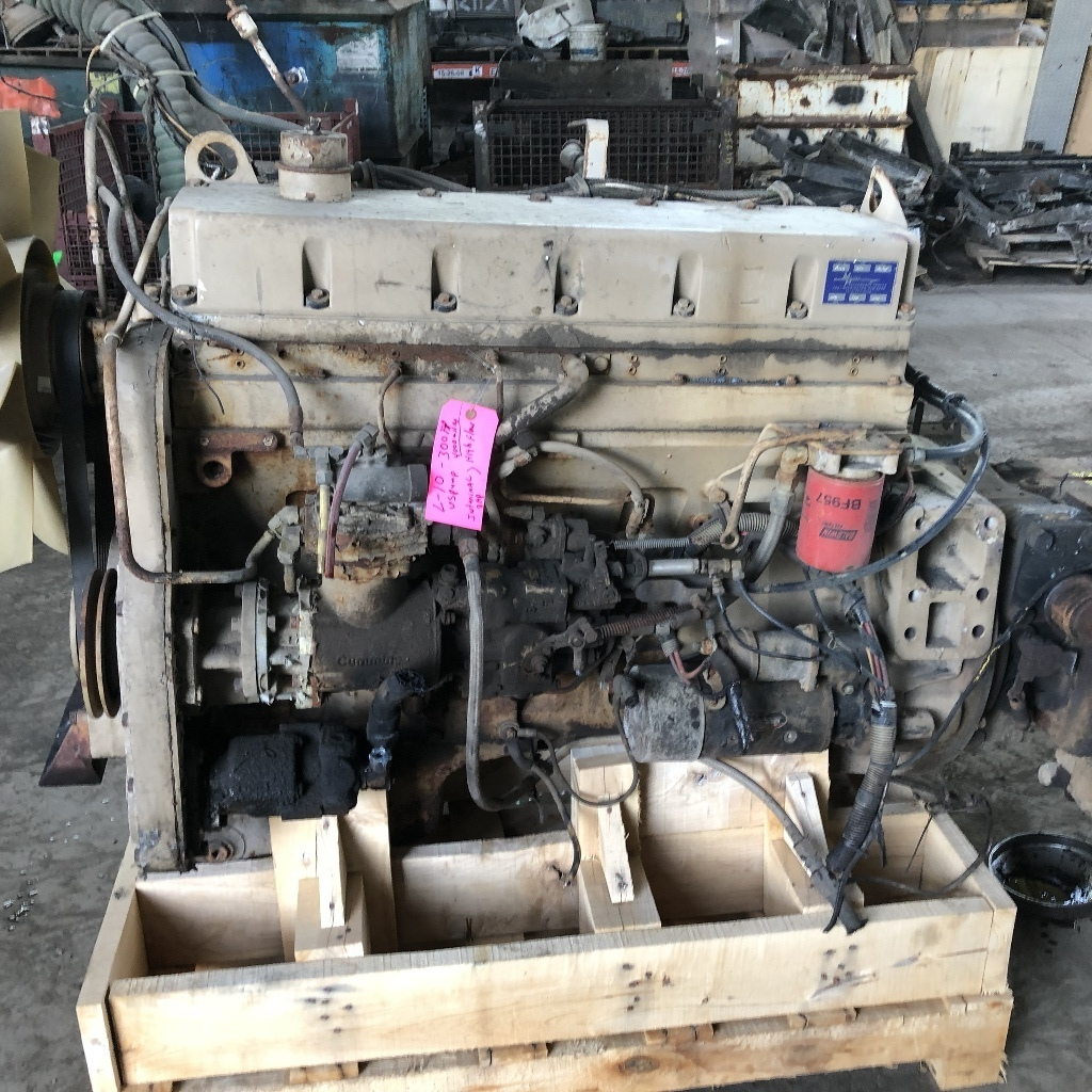 USED 1989 CUMMINS L10 COMPLETE ENGINE TRUCK PARTS #2044