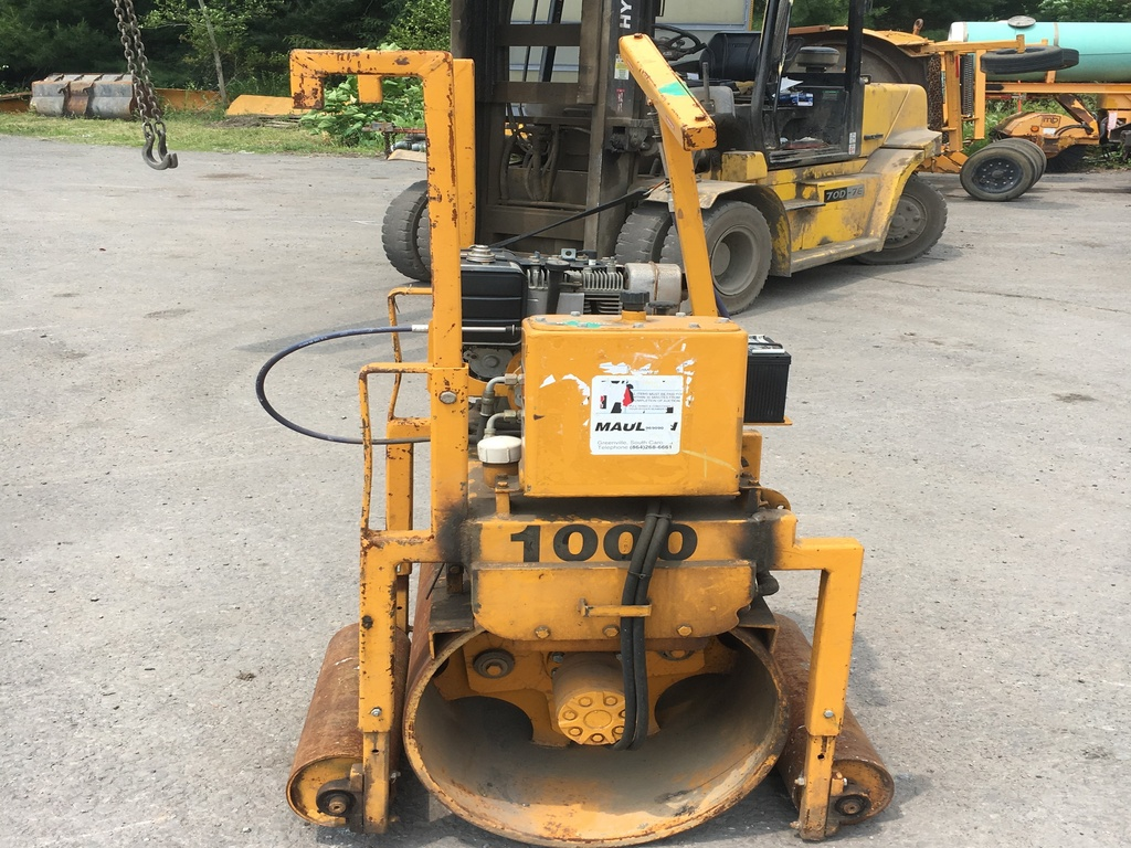 USED 1997 MAULD 1000 DRUM / ROLLER COMPACTOR EQUIPMENT #2080