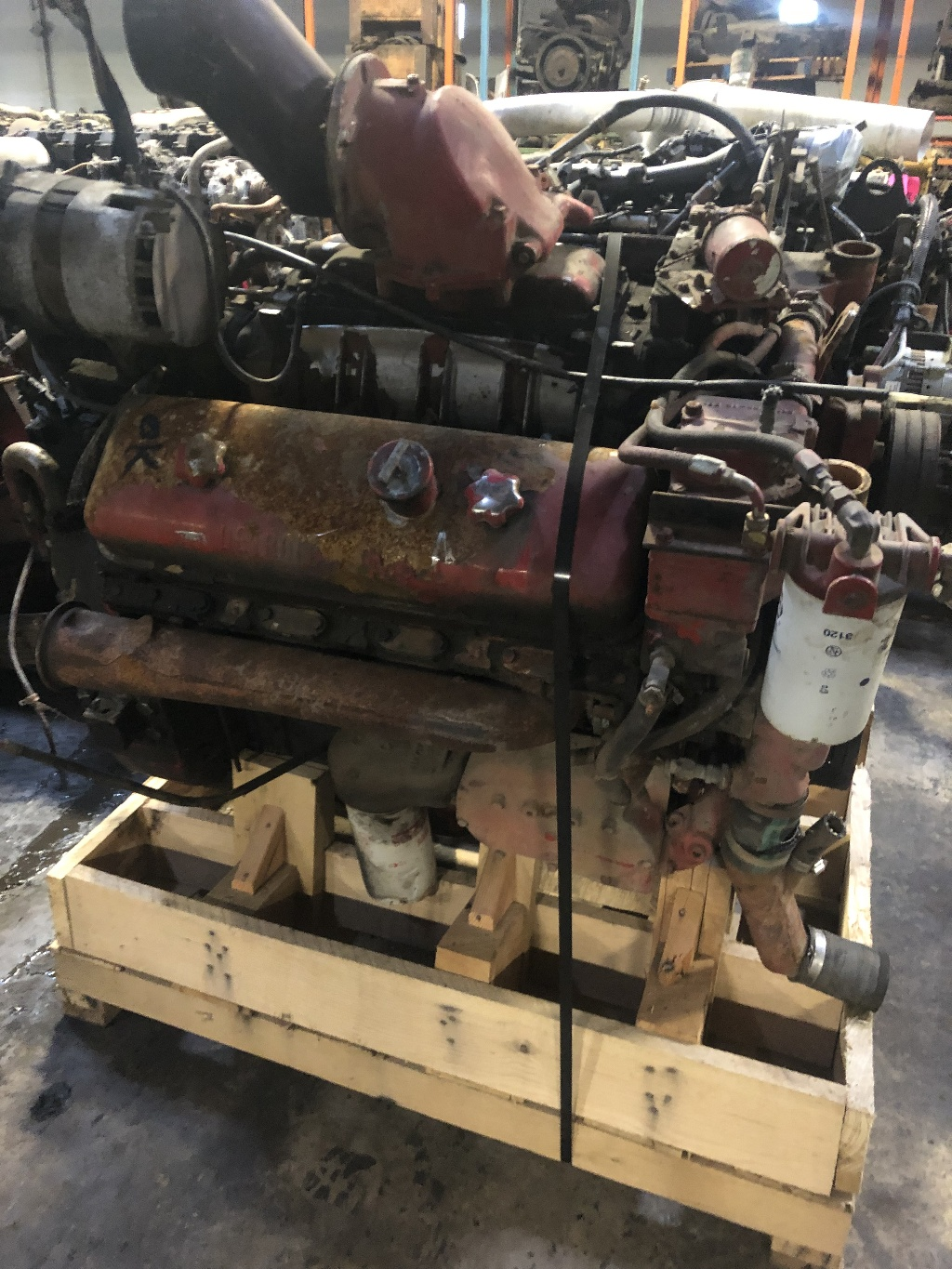 DETROIT 8V71 ENGINE ASSEMBLY FOR SALE #634621 | PA