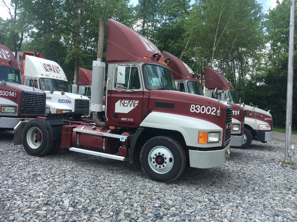 USED 2001 MACK CXU612 CAB CHASSIS TRUCK #2754