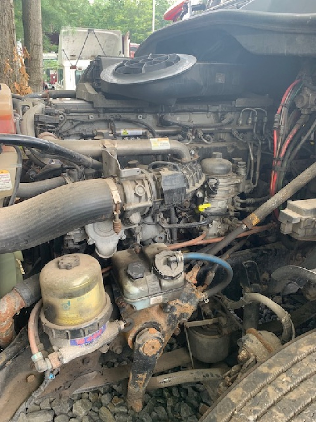 1989 DETROIT 8V92 SILVER 475HP ENGINE ASSEMBLY